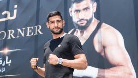 El boxeador Amir Khan