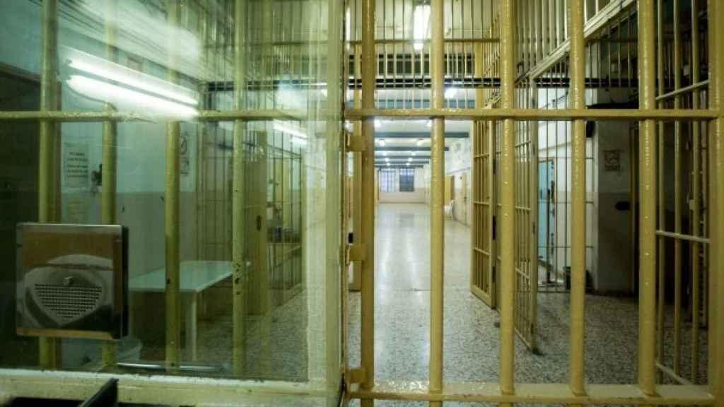 Imagen de archivo de una cárcel española./