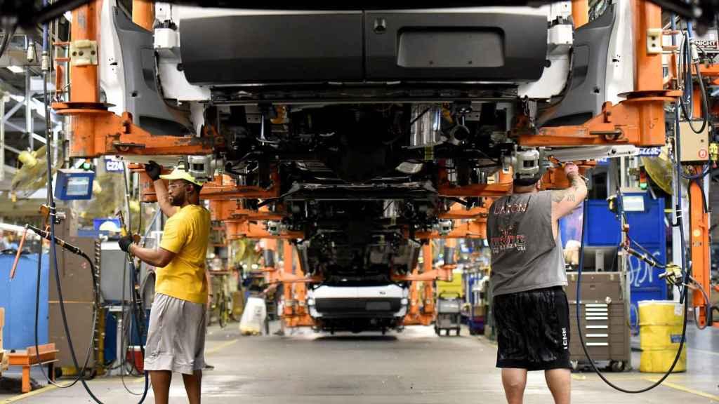 Fábrica de Ford en Estados Unidos.