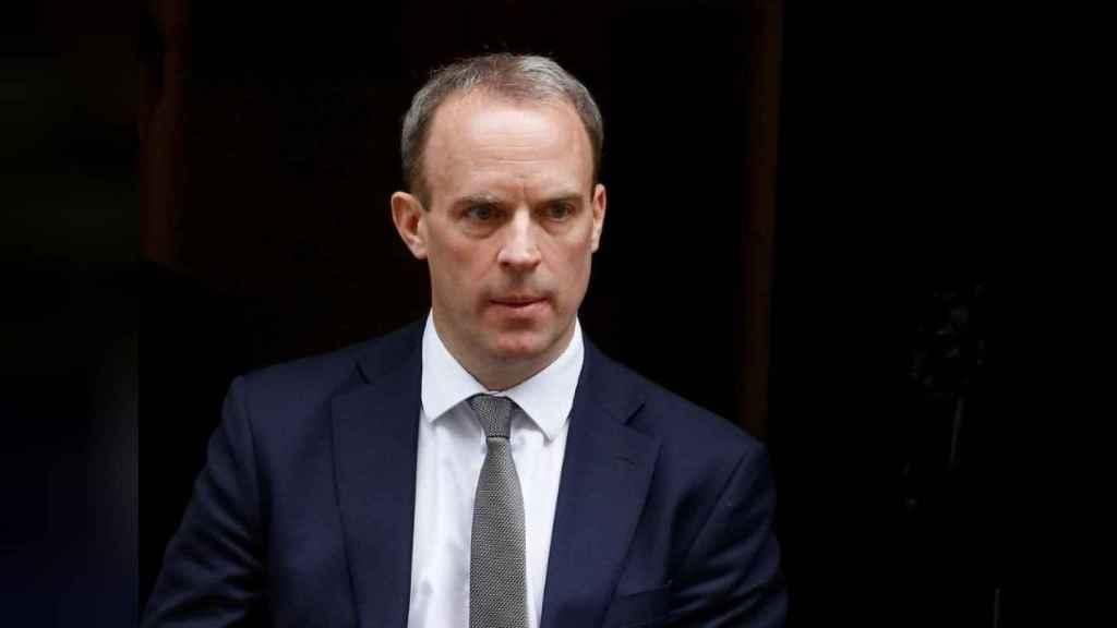 El ministro de Exteriores británico, Dominique Raab, acusa a Bruselas de socavar su soberanía sobre Gibraltar