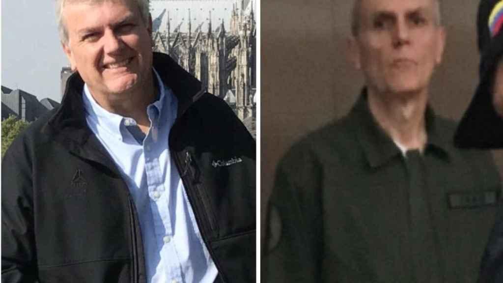 Tomeu Vadell, antes y después de su detención: izquierda, en 2015; derecha, 9 de enero de 2019.