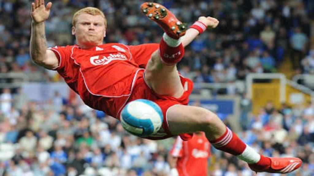 John Arne Riise, jugador del Liverpool