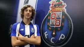 Fabio Silva, con la camiseta del Oporto
