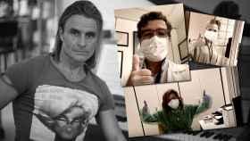 Nacho Cano ha querido homenajear a su amigo de la infancia, que trabaja como sanitario.
