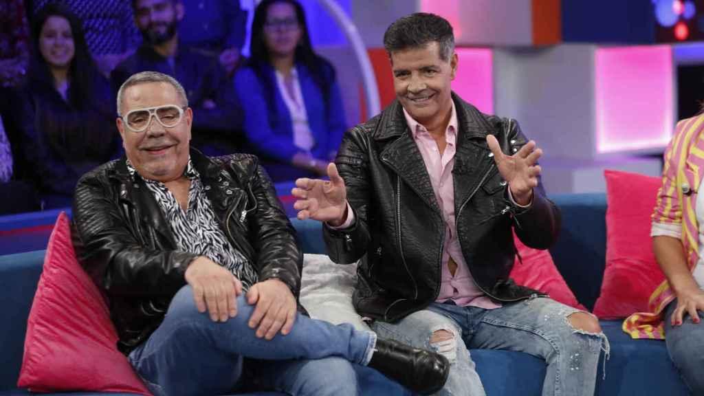 Los Chunguitos en su última entrevista en televisión.