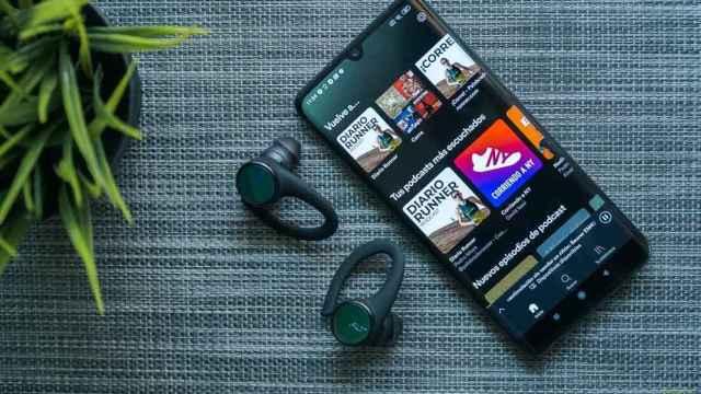 Spotify en un móvil