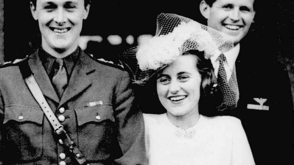 Kathleen en su boda con  William John Robert Cavendish.