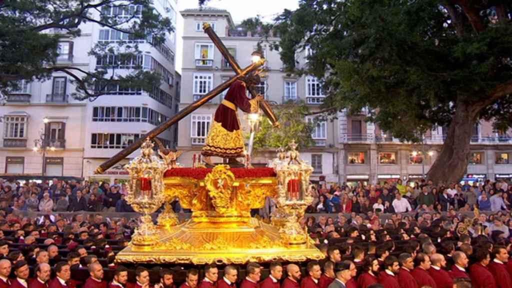 Una procesión de Málaga.