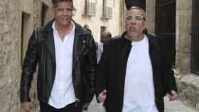 José y Juan Salazar en una imagen de archivo.