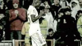 Vinicius Junior celebra un gol esta temporada