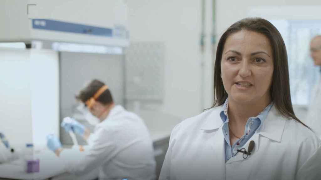 La directora general de NOB166, Noelia Beltrán, en sus instalaciones de Castellón.