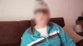 El hombre detenido, en el vídeo que grabó y difundió por las redes sociales.