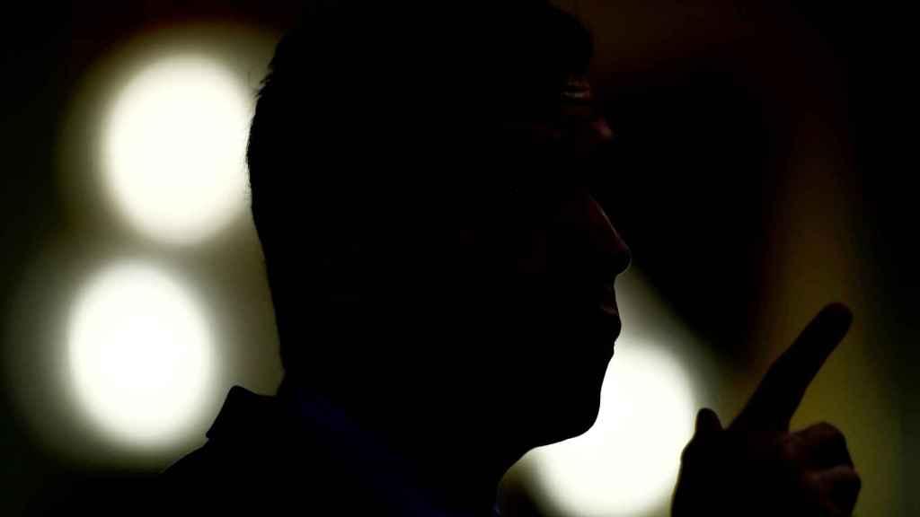 Pedro Sánchez, en la tribuna del Congreso, durante la réplica a los grupos en el pleno de la segunda prórroga del estado de alarma.