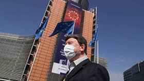 El edificio Berlaymont, la sede de la Comisión Europea en Bruselas