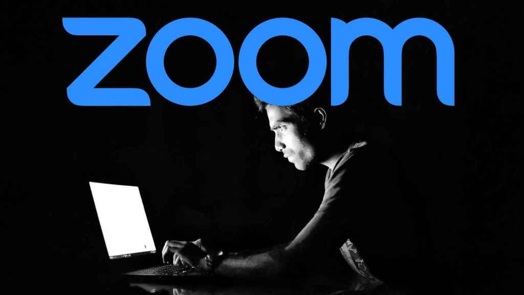 Zoom y un hacker.