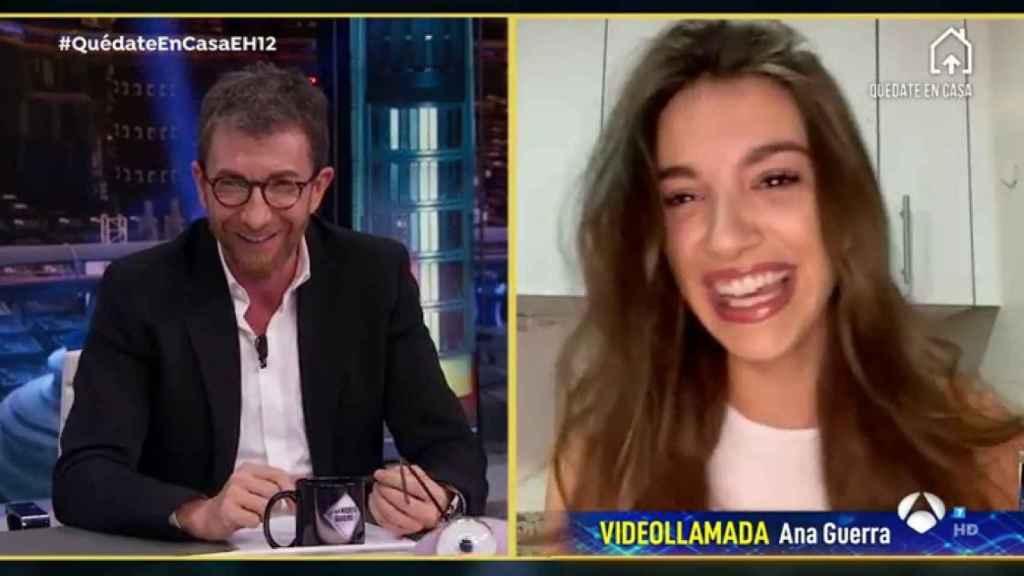 Ana Guerra ha confesado que está viviendo la cuarentena en Madrid.