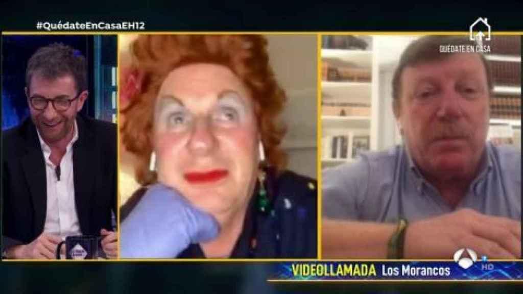 César y Jorge Cadaval están viviendo la cuarentena cada uno en su casa de Sevilla
