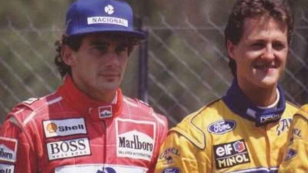 Senna y Schumacher