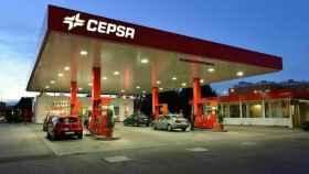 Una gasolinera de Cepsa.