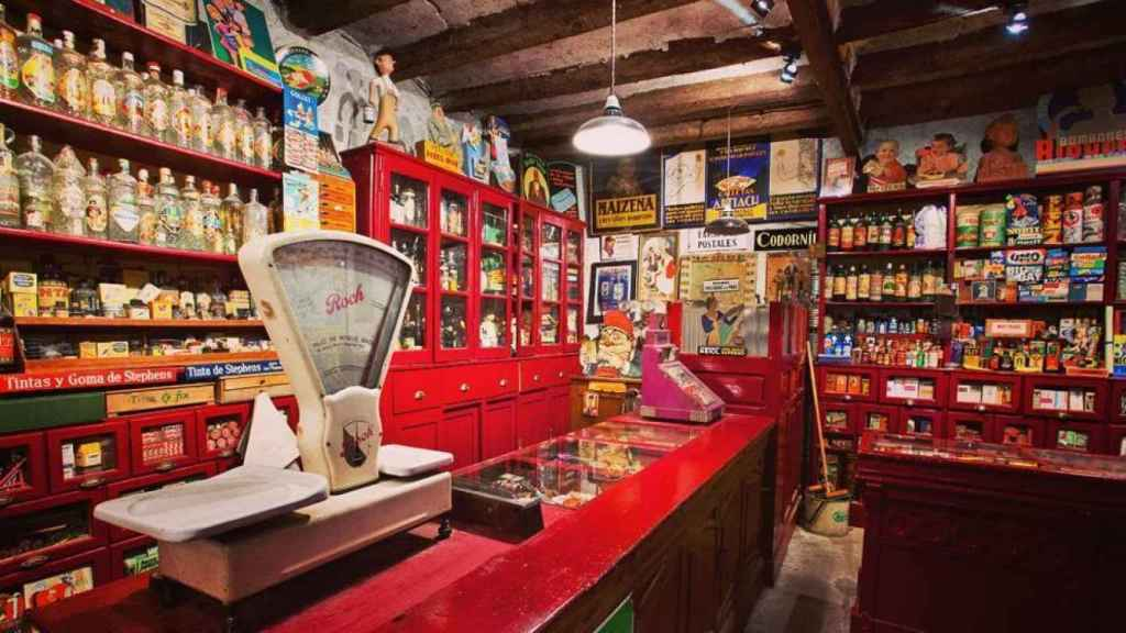 Reproducción de una tienda de ultramarinos de les Botigues Museu de Salàs de Pallars (Instagram / Botigues museu)