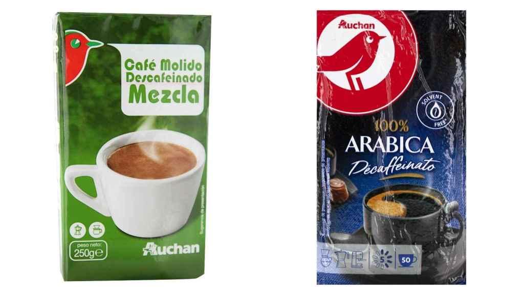 Café de la marca blanca de Alcampo (Auchan)