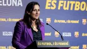 Maria Teixidor, durante su tiempo como directiva del FC Barcelona