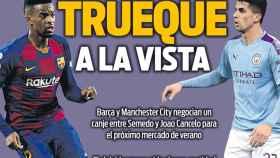 La portada del diario Sport (12/04/2020)