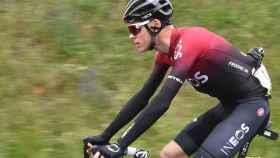Chris Froome, durante una prueba de esta temporada