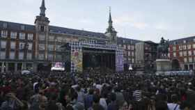 Concierto por San Isidro 2016 en la Plaza Mayor de Madrid.