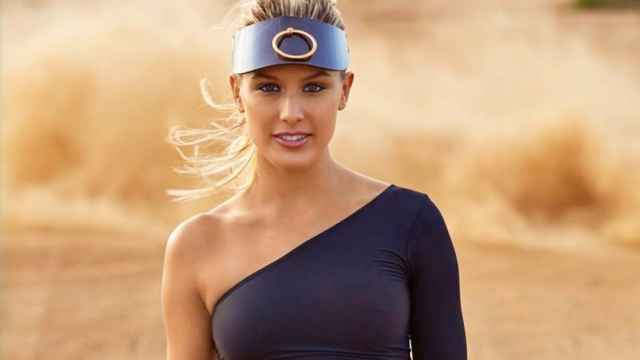 La tenista Genie Bouchard