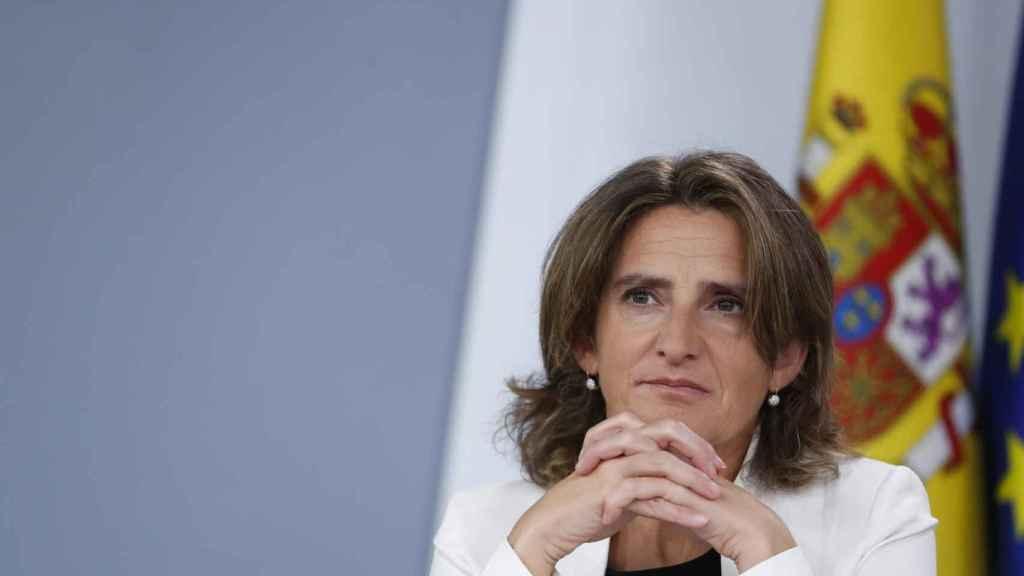 Teresa Ribera, ministra de Transición Ecológica, en una imagen de archivo.