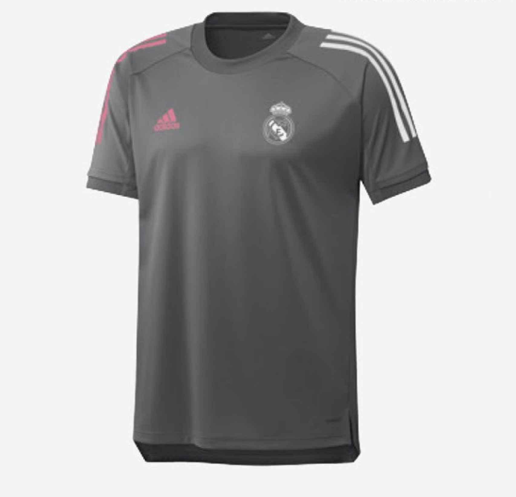 Escarpado Seguro Formación  Se filtran las camisetas de entrenamiento del Real Madrid para la temporada  2020/2021