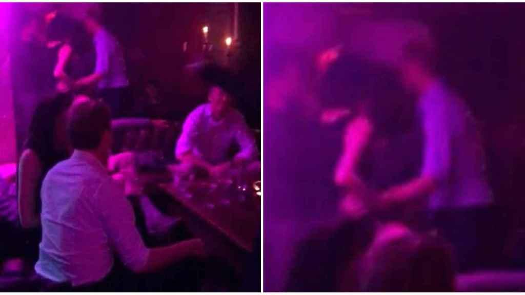 Las supuestas fotografías del príncipe Guillermo con Rose Hanbury en un club nocturno.