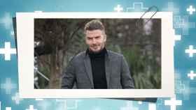 David Beckham en montaje de JALEOS.
