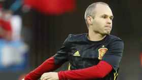 El futbolista albaceteño Andrés Iniesta