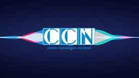 Fotomontaje de Siri y el CCN (Centro Criptológico Nacional)
