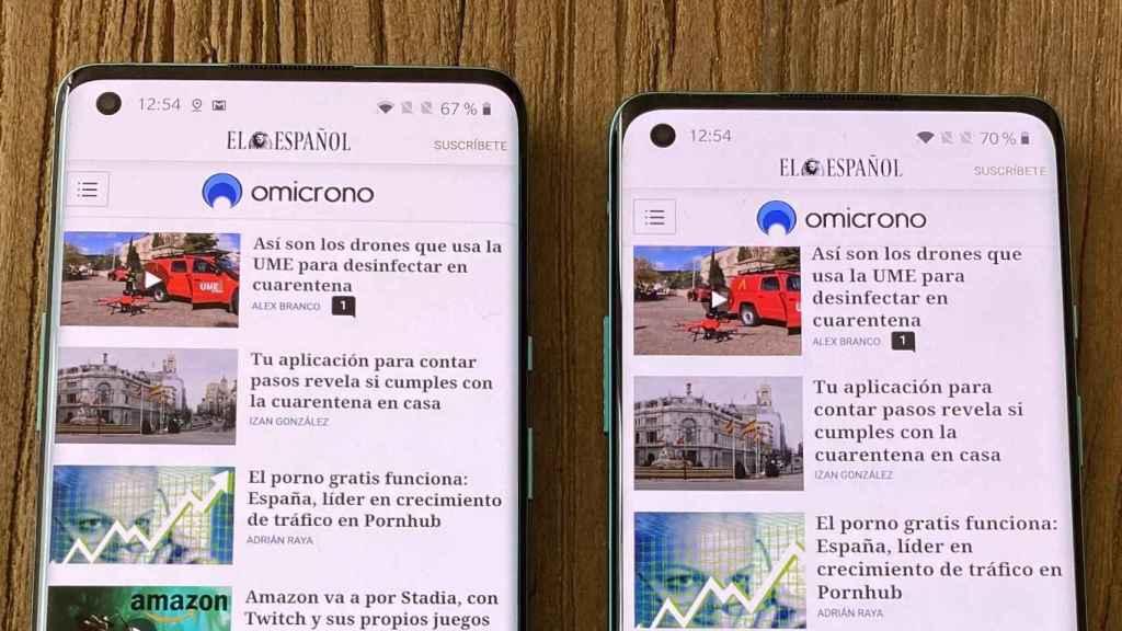 OnePlus 8 y OnePlus 8 Pro