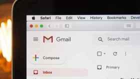 Interfaz de Gmail.