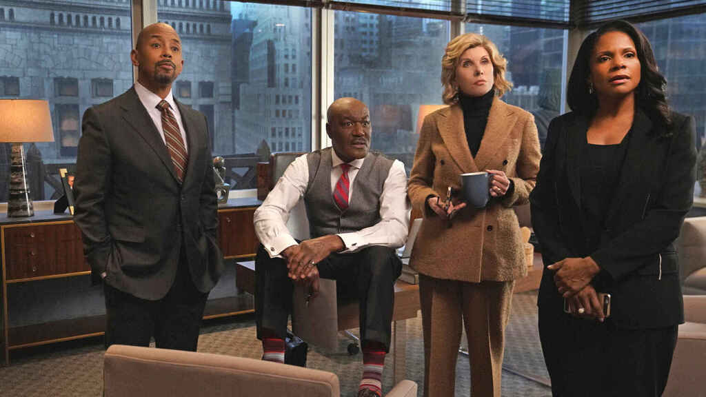 Fotograma de 'The Good Fight'.