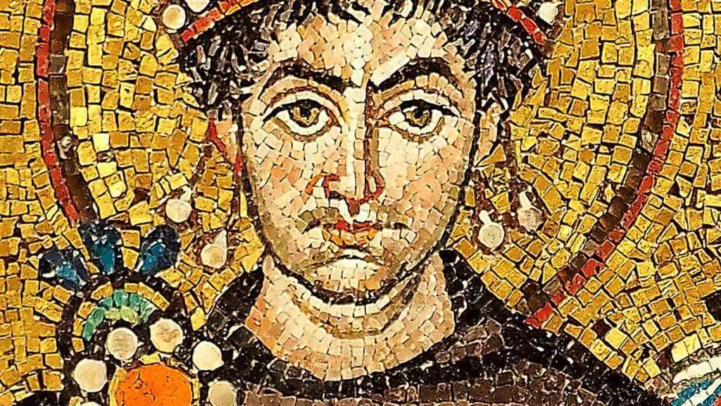 Mosaico de Justiniano I.