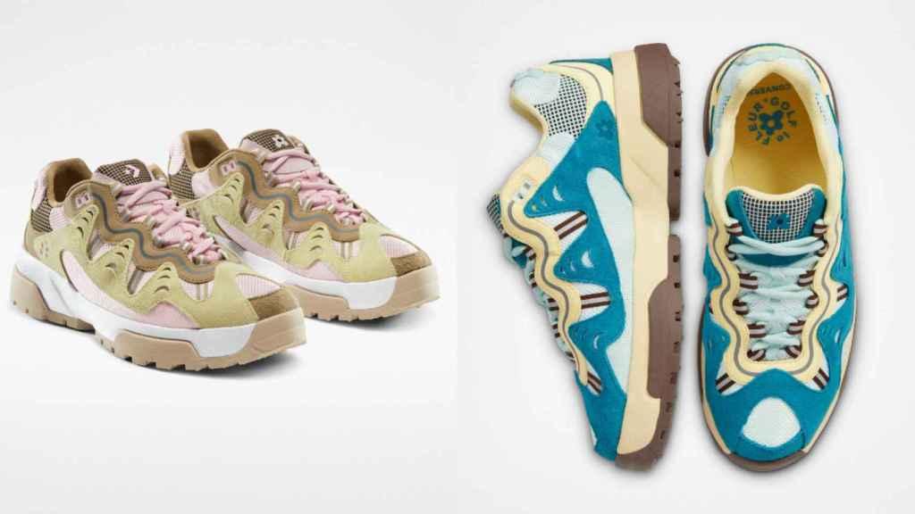 Converse y Tyler, the Creator han presentado dos nuevos colores de su colección.
