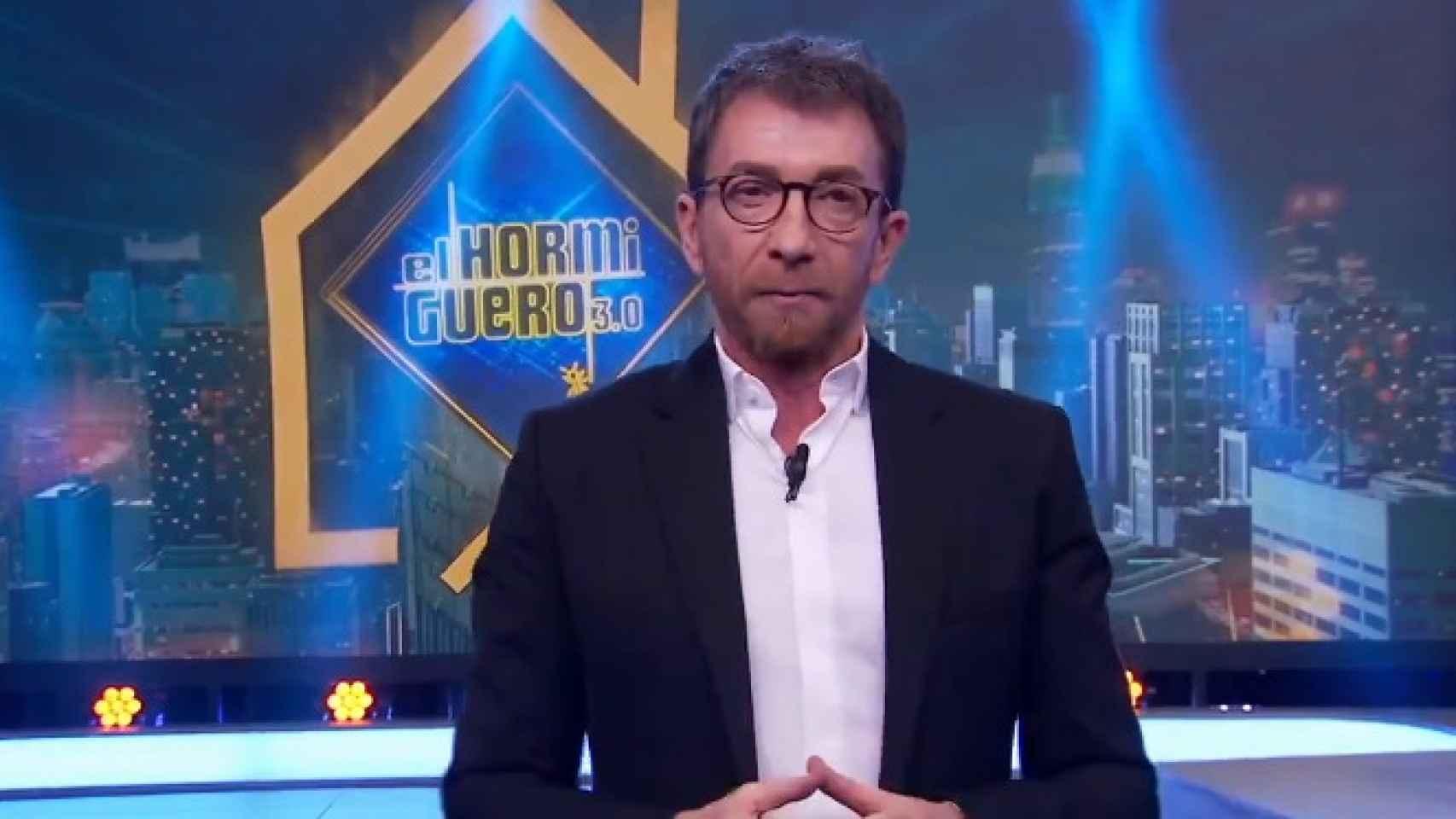 Pablo Motos este martes en 'El Hormiguero'.