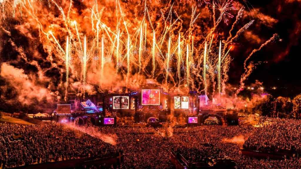 Imagen de un concierto en Tomorrowland.