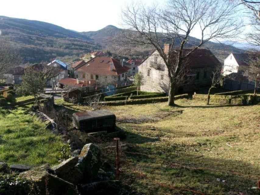 Una aldea despoblada de Galicia, en imagen de archivo.