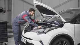 Imagen de un taller oficial de Toyota.