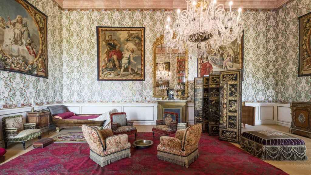 Interior del Palacio Real de Riofrío.