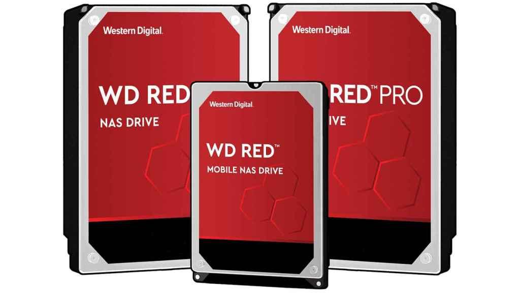 Algunas versiones del WD Red fueron las que iniciaron la polémica