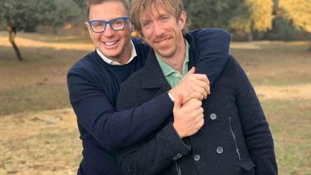 Jorge y Ken se conocieron en 2001 en un bar de Sevilla.