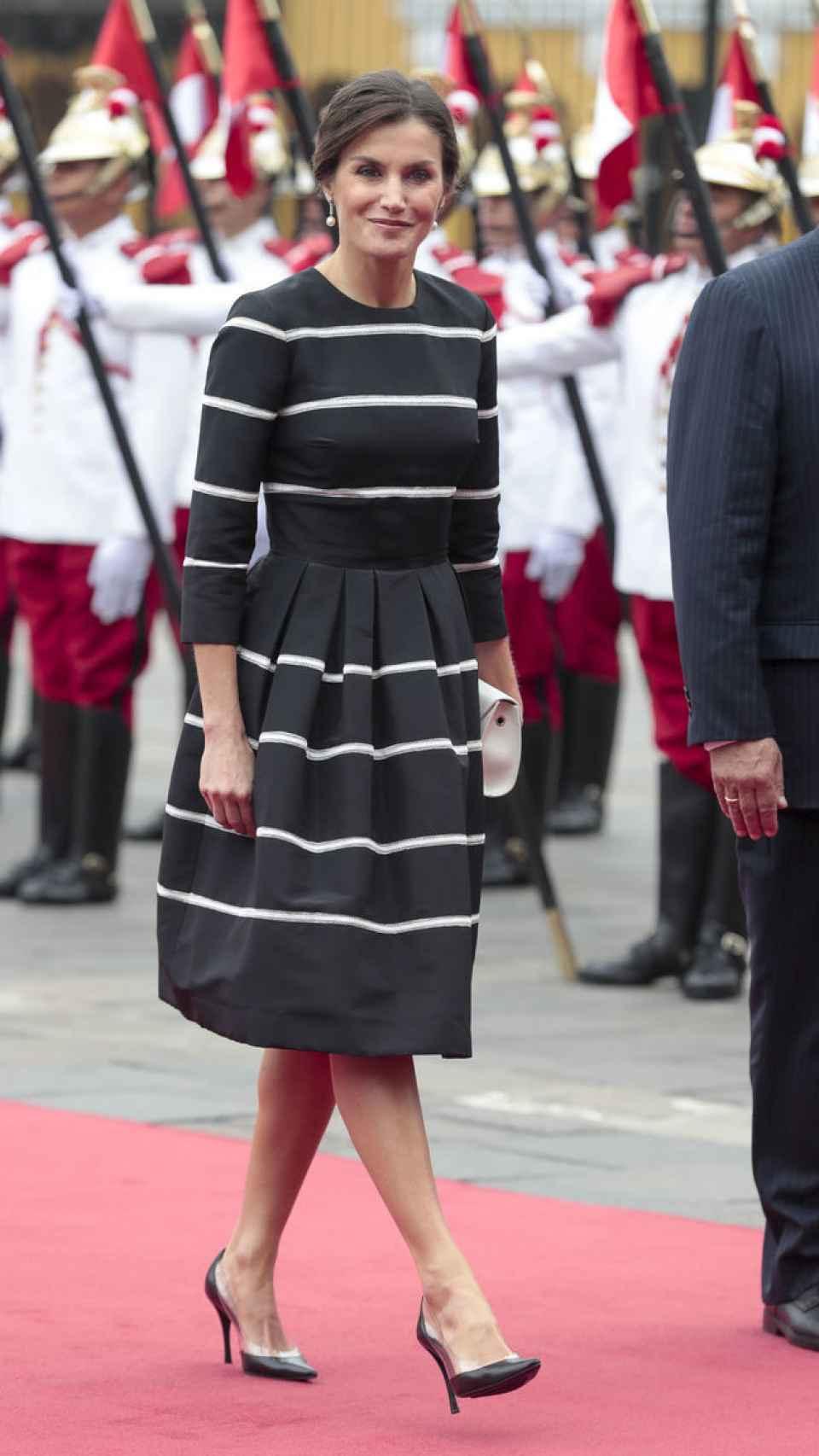 La reina Letizia en Perú.