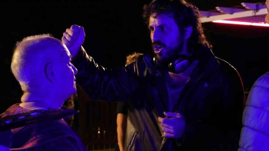 Álex Rodrigo en el rodaje de 'El último show'.